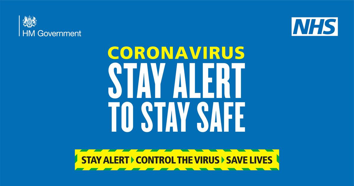coronavirus stay alert stay safe