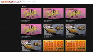 online salsa classes website categories